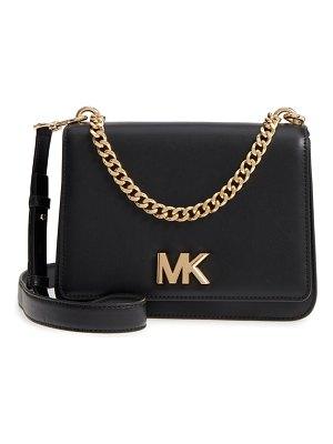 MICHAEL Michael Kors large mott chain swag leather shoulder bag