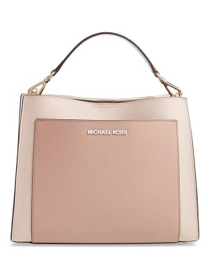 MICHAEL Michael Kors medium gemma colorblock leather satchel