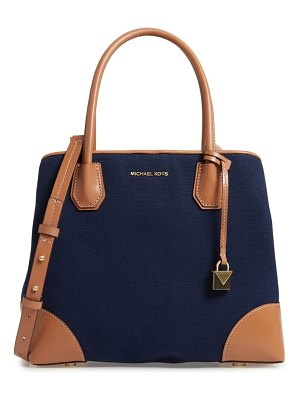 MICHAEL Michael Kors medium mercer gallery canvas satchel