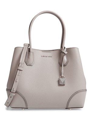 MICHAEL Michael Kors medium mercer gallery leather satchel