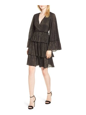 MICHAEL Michael Kors michael kors tiered ruffle dress
