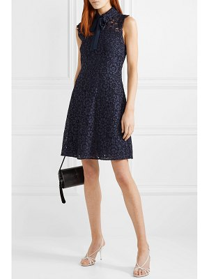 MICHAEL Michael Kors pussy-bow corded lace dress