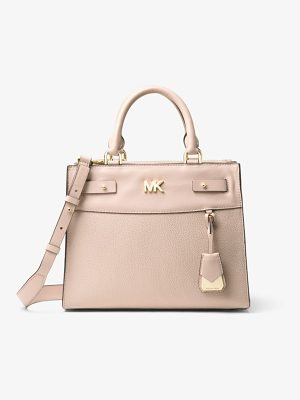 MICHAEL Michael Kors Reagan Medium Leather Satchel