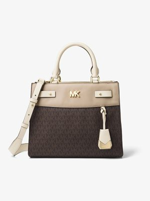 MICHAEL Michael Kors Reagan Medium Logo Satchel