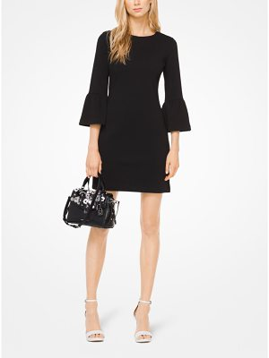 MICHAEL Michael Kors Ribbed Knit Bell-Cuff Dress