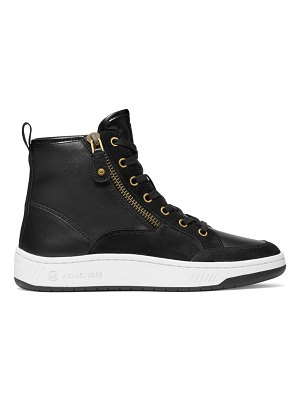 MICHAEL Michael Kors shea high-top leather sneakers