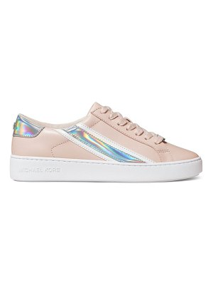 MICHAEL Michael Kors slade iridescent leather sneakers