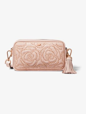 MICHAEL Michael Kors Small Rose Studded Leather Camera Bag