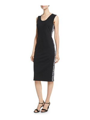 MICHAEL Michael Kors Sportif Logo Sleeveless Ponte Dress