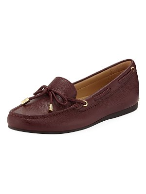 MICHAEL Michael Kors Sutton Tumbled Leather Moccasins