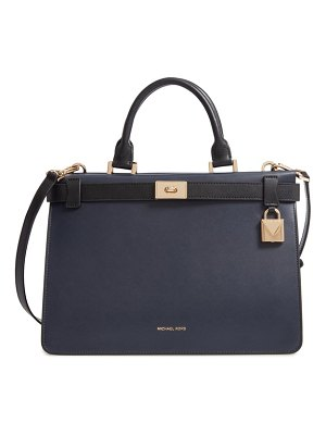 MICHAEL Michael Kors tatiana leather satchel