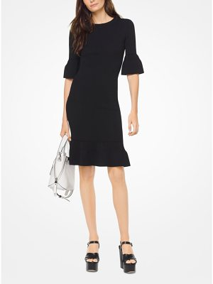 MICHAEL Michael Kors Textured Bell-Cuff Dress