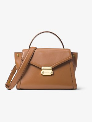 MICHAEL Michael Kors Whitney Medium Leather Satchel