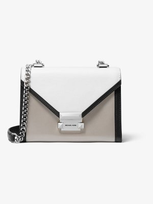 MICHAEL Michael Kors Whitney Small Tri-Color Leather Convertible Shoulder Bag