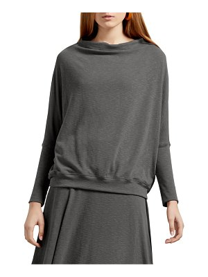 Michael Stars amy tahoe jersey draped long sleeve tee