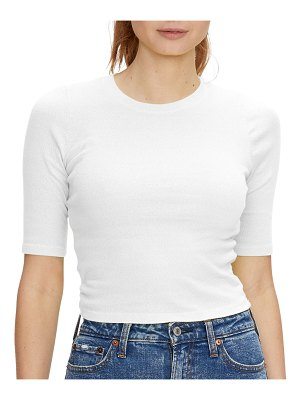 Michael Stars Lilly Cropped Tee