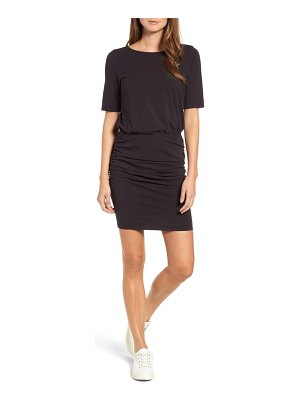 Michael Stars ruched body-con dress