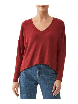 Michael Stars Sam V-Neck Crop Top