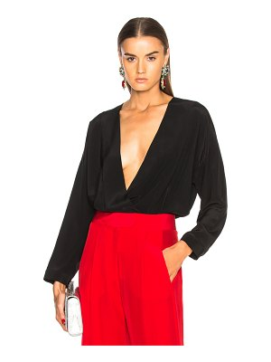 Michelle Mason Oversized Blouse Bodysuit