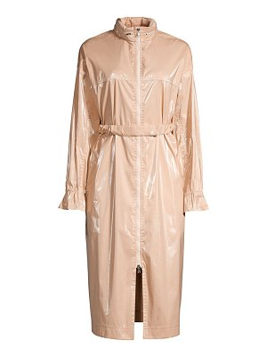 Michelle Waugh the amy patent raincoat