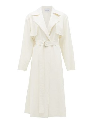 Michelle Waugh the carina oversized cotton-blend trench coat