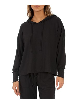 MIDNIGHT BAKERY hacci knit hoodie
