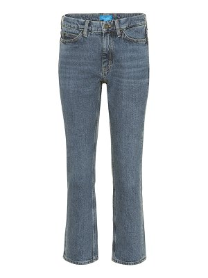 M.i.h Jeans daily crop high-rise straight jeans