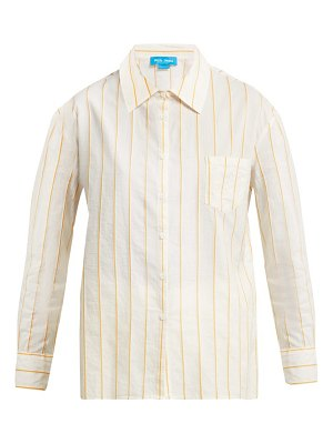 M.i.h Jeans dylan pinstriped cotton shirt