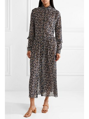 M.i.h Jeans edith floral-print silk-georgette maxi dress