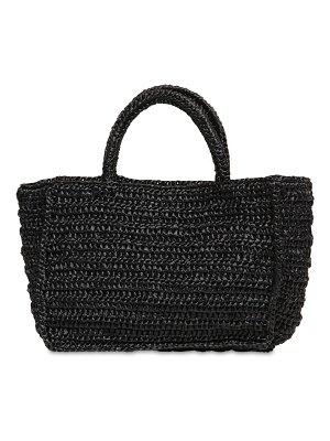 Miista Clyde straw tote bag