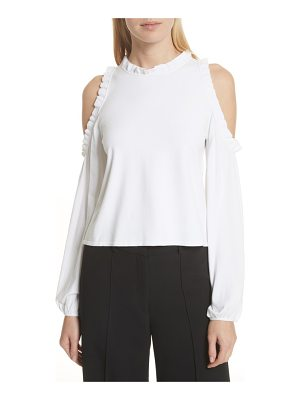 Milly cold shoulder ruffle top