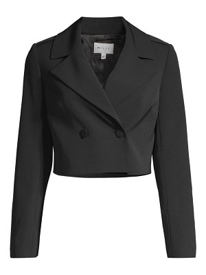 Milly eva cropped blazer jacket