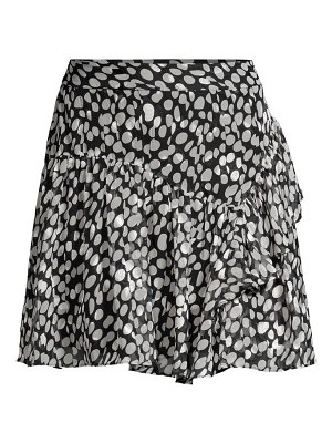 Milly heidi abstract dot skirt