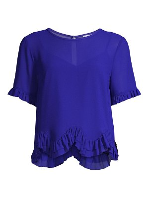 Milly julia chiffon t-shirt