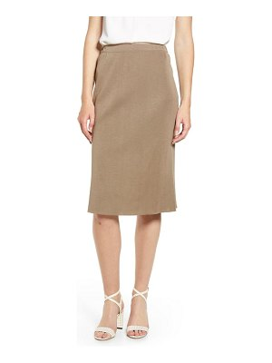 Ming Wang straight skirt