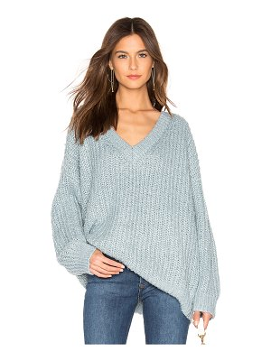 MINKPINK Candid V Neck Sweater