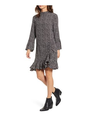 MINKPINK feel it again ruffle minidress