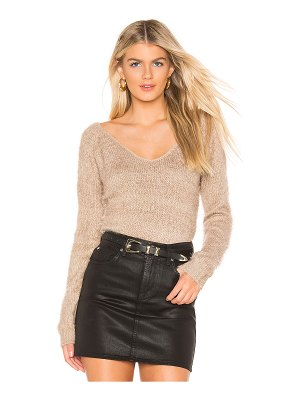 MINKPINK Fernanda V Neck Sweater