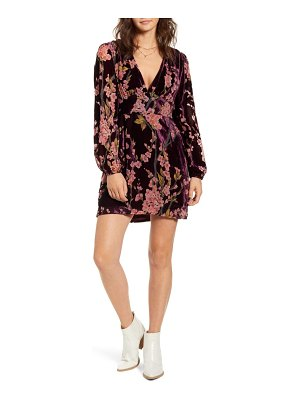 MINKPINK time after time long sleeve minidress