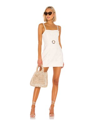 MINKPINK to the coast broderie dress. - size l (also