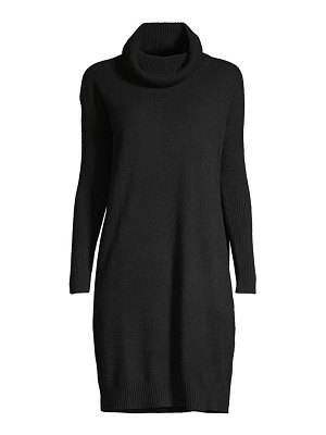 Minnie Rose cashmere cowl neck dress