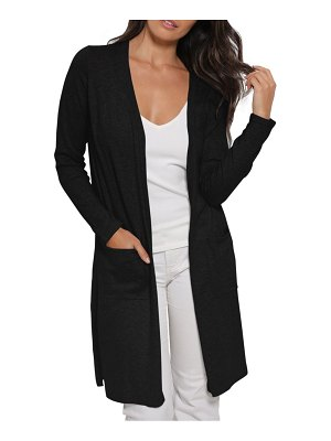 Minnie Rose cotton cashmere-blend duster cardigan