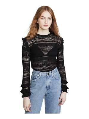 MISA kelly knit top
