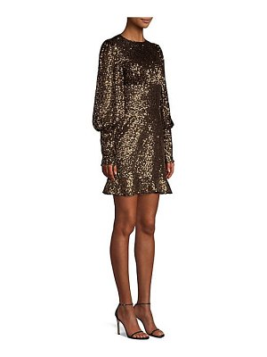 Misha Collection brielle sequin mini dress
