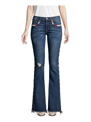 Miss Me Distressed Bootcut Jeans