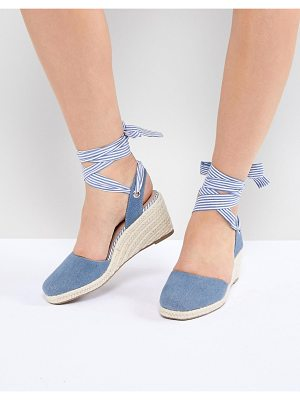 Miss Selfridge Denim Espadrille
