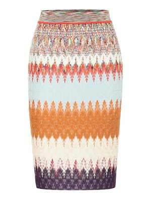 Missoni knit miniskirt