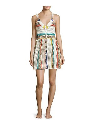 Missoni Mare jacquard striped short dress