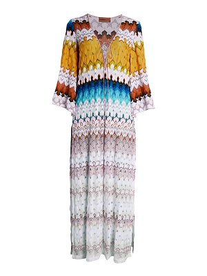 Missoni Mare knit kaftan cover-up