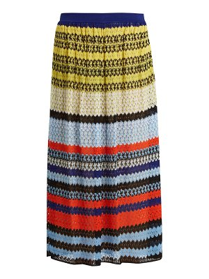 Missoni Mid-rise knit midi skirt